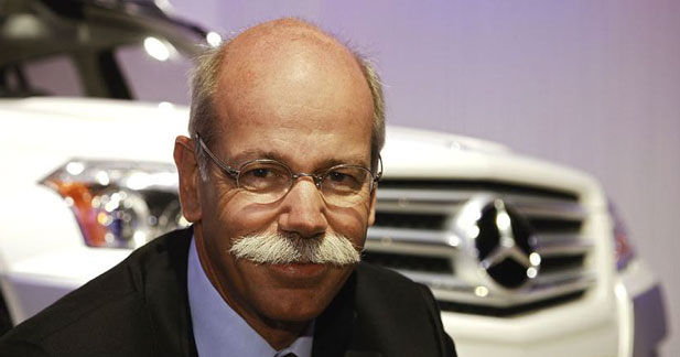 Mercedes reconduit son PDG pour 3 ans