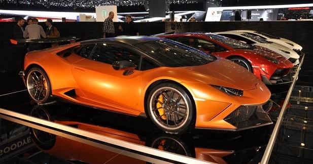 DMC encanaille la Lamborghini Huracan au salon de Genève