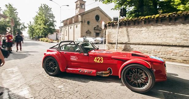 Une Donkervoort D8 GTO en hommage aux 1000 Miglia