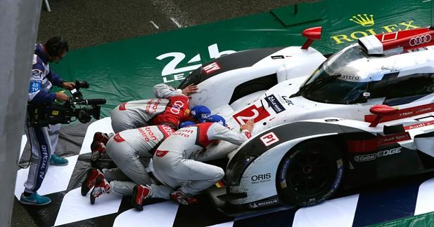 Audi a fait parler son expérience au Mans
