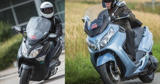 Double avantage pour les acheteurs de Sym GTS 125 et Maxsym 400