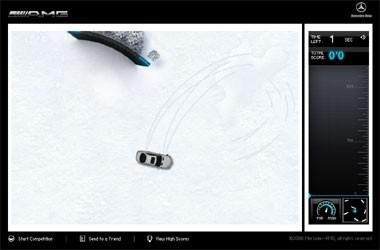 Driftez en Mercedes CL 63 AMG...