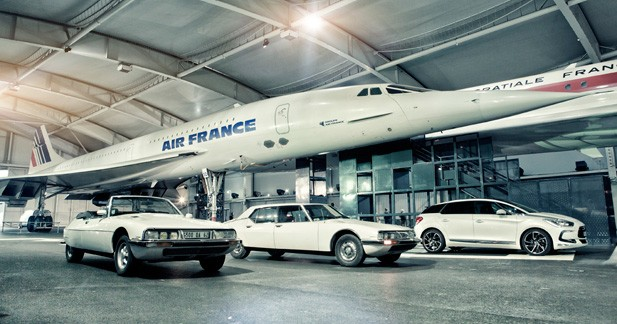 DS5 à la rencontre de Concorde