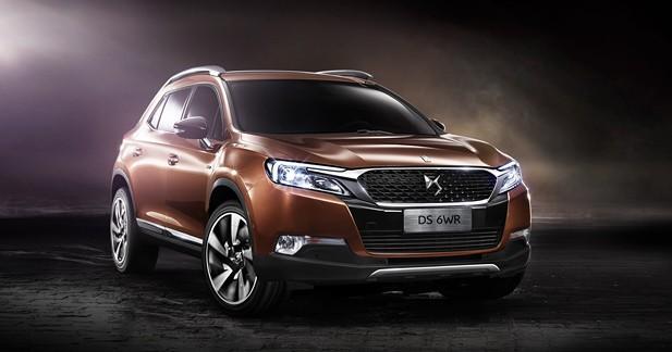Nouvelle DS 6WR : un SUV précieux pour la Chine
