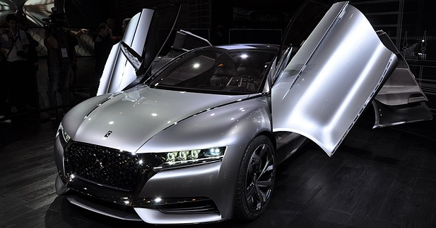 Mondial Auto 2014 : Concept Citroën DS Divine, chic et personnalisable