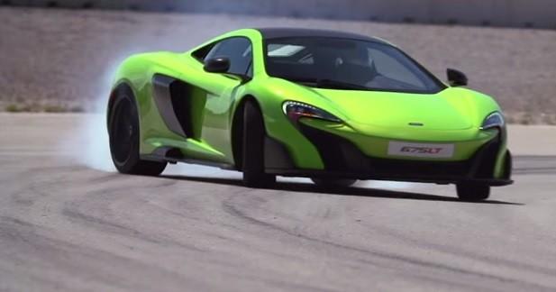 La McLaren 657LT nous prouve qu'elle sait drifter en vidéo