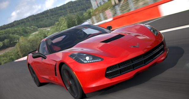 La Corvette Stingray déjà dans Gran Turismo