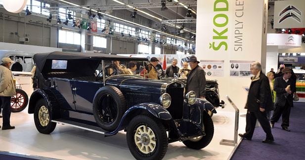 Skoda vient pour la première fois à Rétromobile