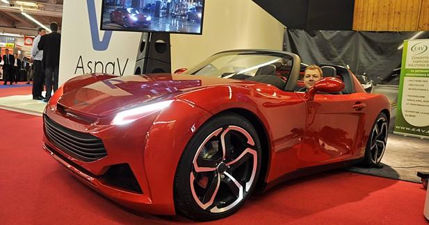 Ecomobylis Pariss : une nouvelle GT électrique française