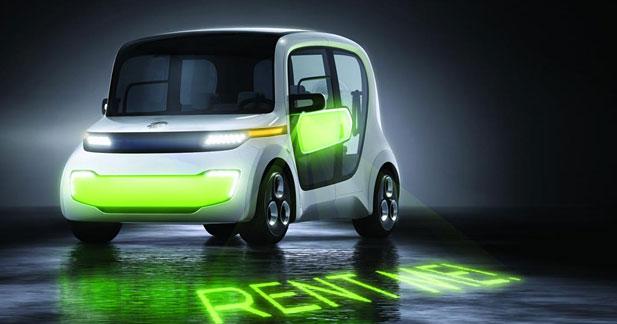 EDAG Light Car Sharing Concept : l'autopartage en fête