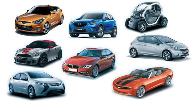 Quelle sera la plus belle voiture de l'année 2011 ?