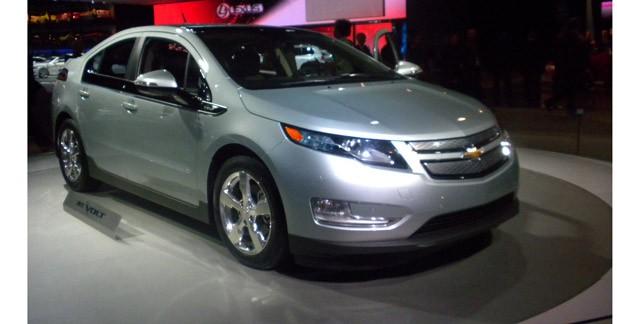 La Chevrolet Volt élue voiture de l'année aux USA