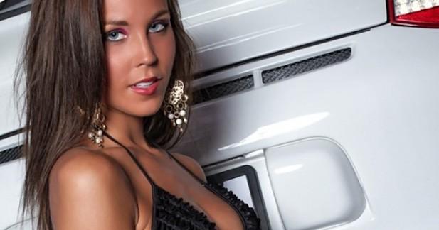 Glamour : Elle n'aime que les Porsche