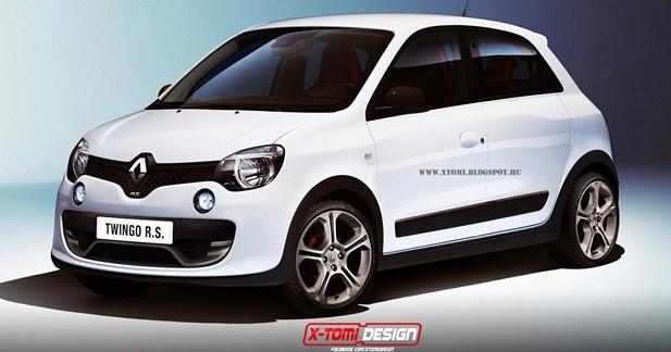 Renault préparerait une version musclée de la Twingo