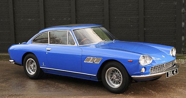 Une Ferrari de John Lennon aux enchères à Paris