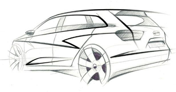 Seat tease autour de l'Ibiza Sport Tourer Concept