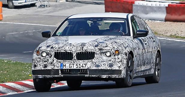 Spyshots : la prochaine BMW Série 5 surprise au Nürburgring