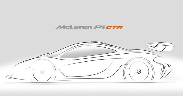McLaren annonce la future P1 GTR de 1 000 ch