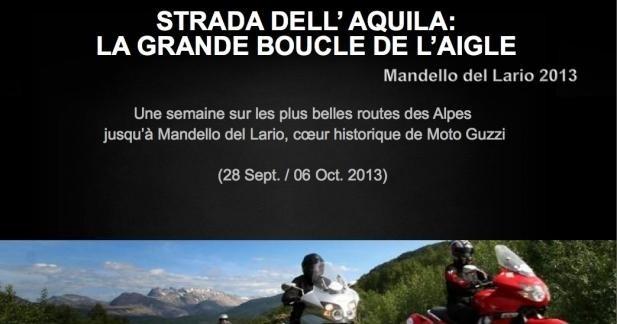 Escapades avec l'aigle Moto Guzzi en septembre
