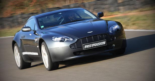 Essai Aston Martin V8 Vantage : pour filer à l'anglaise