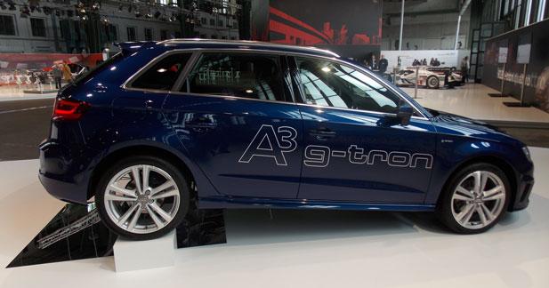 Premier contact avec l'Audi A3 Sportback au gaz