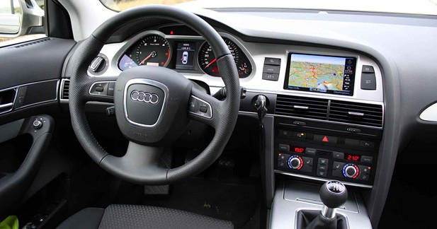 Essai audi a6 2 0 tdi e econologique for Audi a4 break interieur