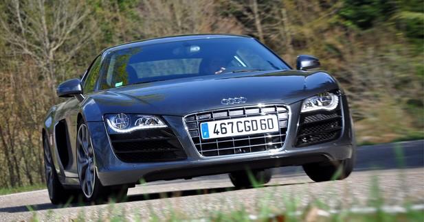Essai Audi R8 V10 5.2 FSI : Plaisir puissance 10