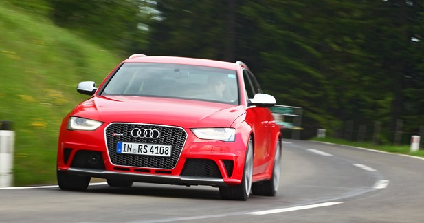 Essai Audi RS4 4.2 : Coffre à jouets