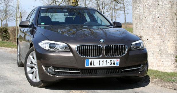 Essai Bmw 530d Routiere En Classe Affaire Autonews