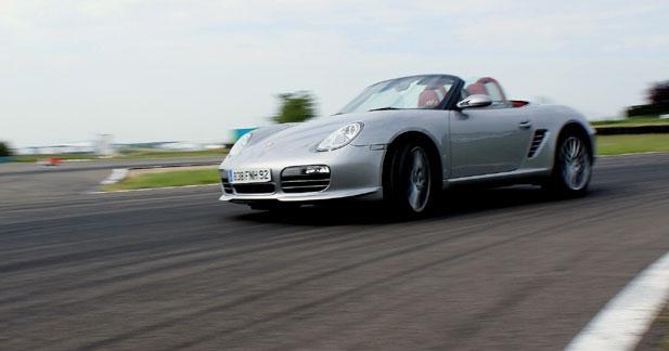 Essai Boxster RS 60 Spyder : musique de Porsche