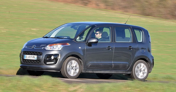 Essai Citroën C3 Picasso restylé 1.4 VTi 95 : timide dans ses évolutions et son tempérament