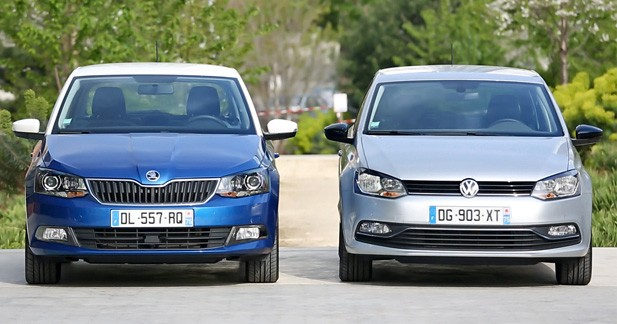 essai comparatif skoda fabia vs volkswagen polo et si la. Black Bedroom Furniture Sets. Home Design Ideas