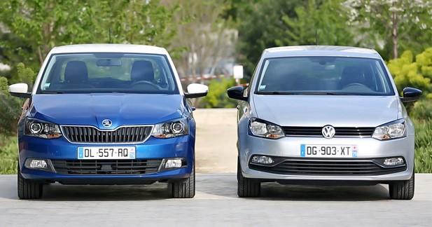 Essai comparatif Skoda Fabia vs Volkswagen Polo: et si la tchèque dépassait l'allemande ?