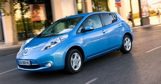 Nissan Leaf : Premier contact