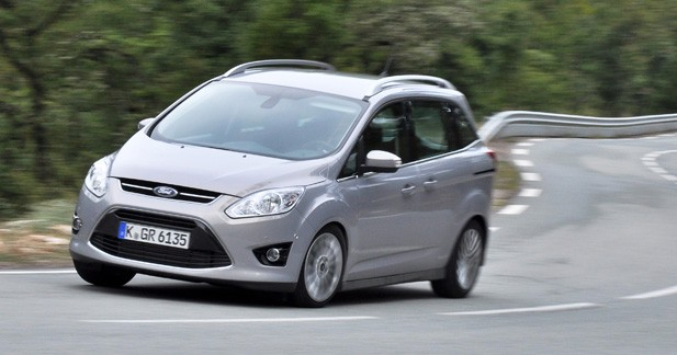 Essai Ford Grand C-Max 2.0 TDCi 163 Powershift : l'âge de raison
