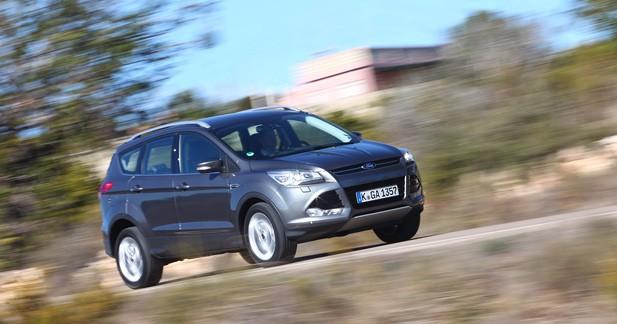 Essai Ford Kuga 2.0 TDCi 163 ch 4x4 Titanium : Coup gagnant ?