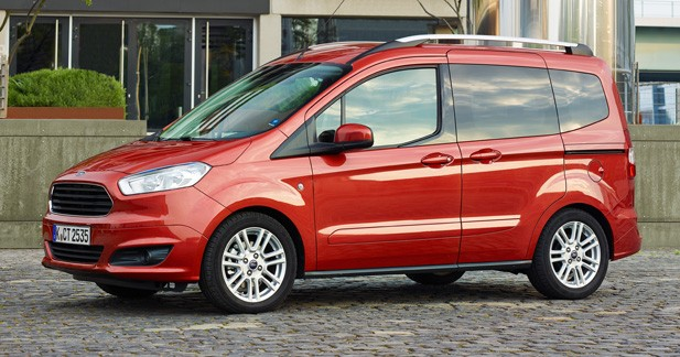 Essai Ford Tourneo Courier : au plus simple
