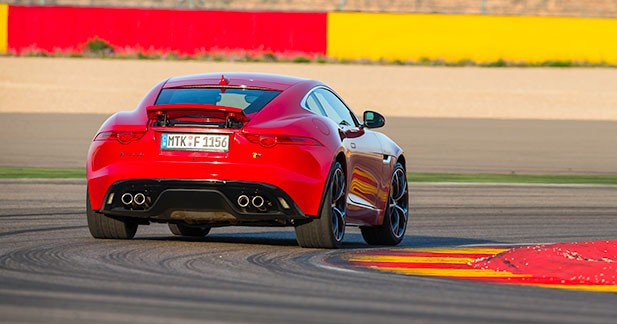 La plus sportive des Jaguar de série