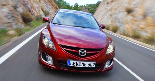 Essai Mazda6 2.2 MZR-CD 185 ch : upsizing vertueux