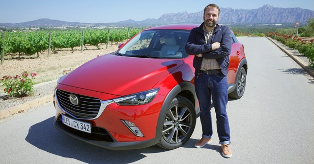 Essai Mazda CX-3 : Dynamique de gamme