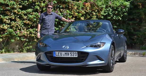 Essai Mazda MX-5: toujours plus séduisante