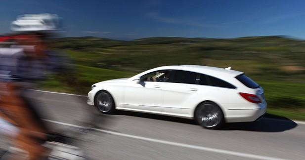 Essai Mercedes CLS Shooting Brake 350 CDI : Bonheur d'esthète