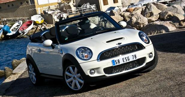 Essai Mini Cabrio Cooper S auto : Auto bronzant