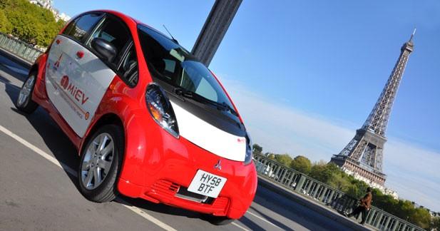 Essai Mitsubishi i-MiEV : l'électricité avant les autres