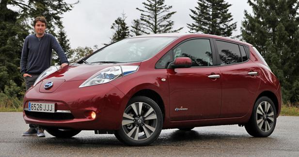essai nissan leaf 30 kwh plus rassurante. Black Bedroom Furniture Sets. Home Design Ideas