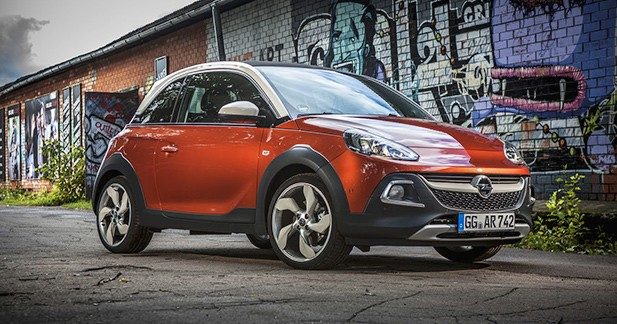Essai Opel Adam Rocks: la riche idée?