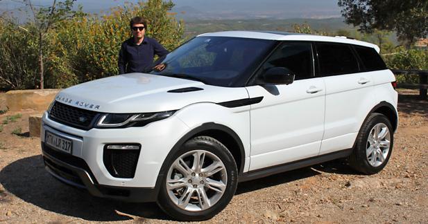 Essai Range Rover Evoque restylé : plus chic et aventurier à la fois