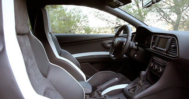 essai seat leon cupra 280 dsg6 ol. Black Bedroom Furniture Sets. Home Design Ideas