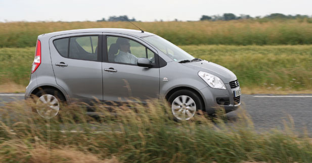 Essai Suzuki Splash : comme une sirène en ville