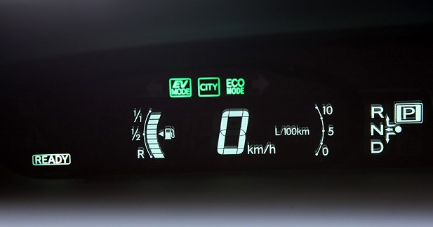Mode «EV City» égal Prius électrique!